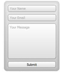 φόρμα επικοινωνίας website