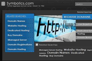 first domain name registered on the internet