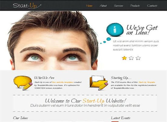 Δωρεάν HMTL πρότυπα για κατασκευή ιστοσελίδας