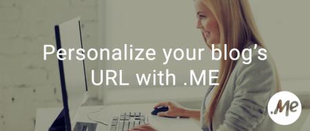 Εξατομικεύστε τη διεύθυνση του blog σας με ένα .ME domain