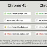 Απεικόνιση κατάστασης SSL στον Chrome