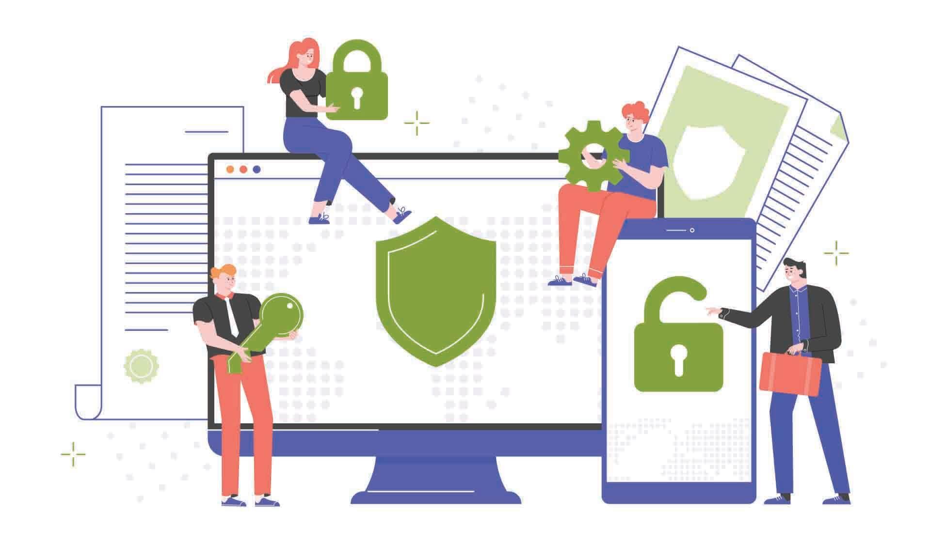 Ασφάλεια συσκευών και δικτύων ομάδας