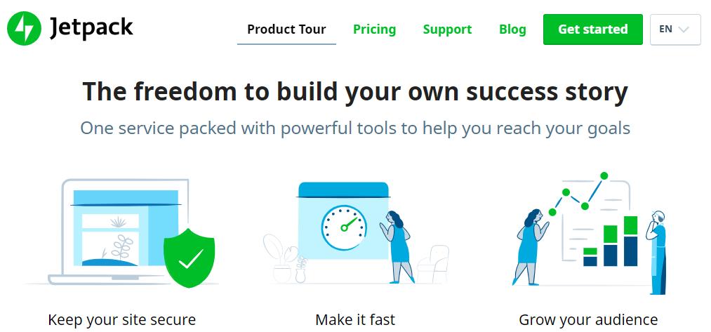 Το Jetpack μεταξύ άλλων επιταχύνει ιστότοπους WordPress