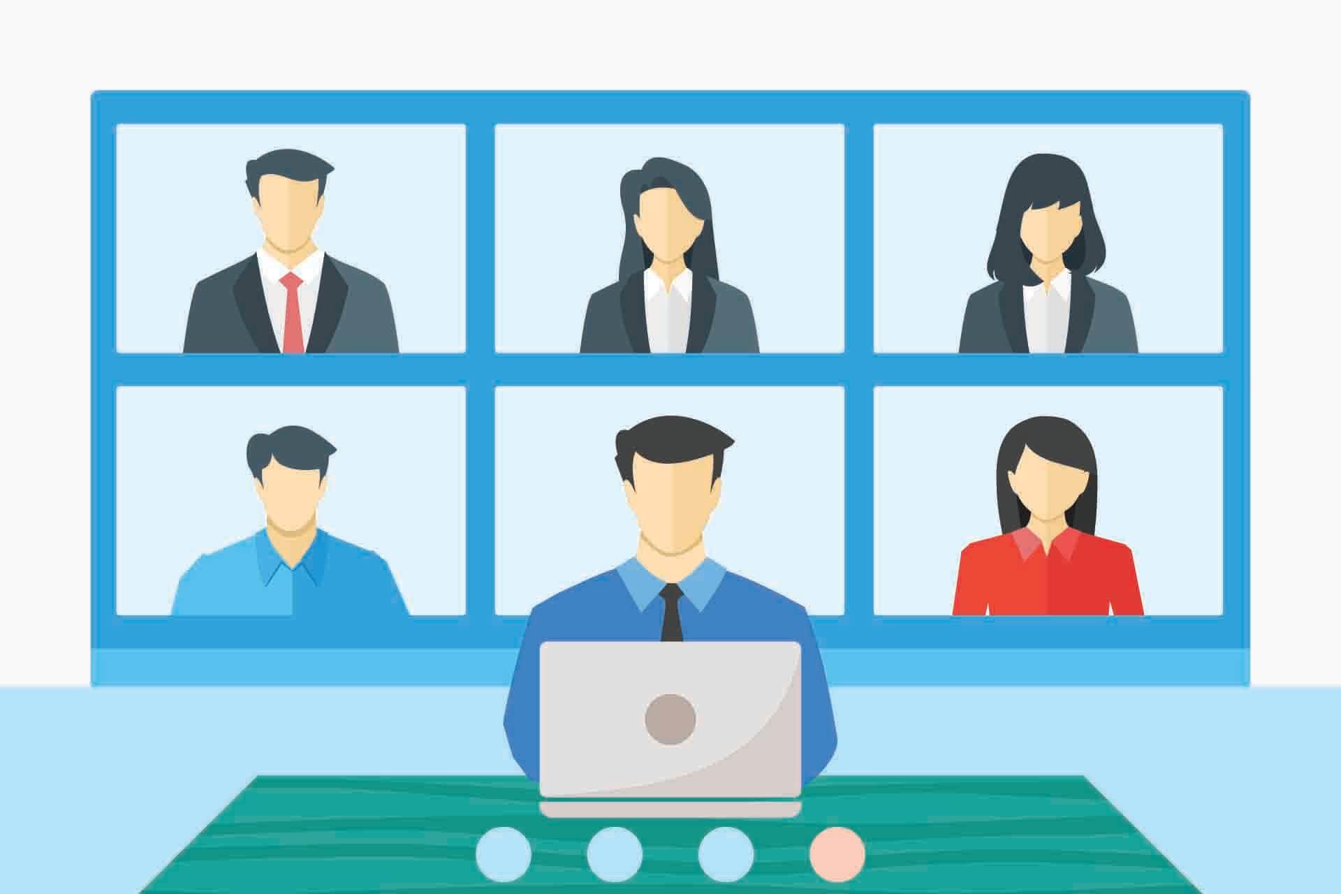 Συναντήσεις ομάδας online