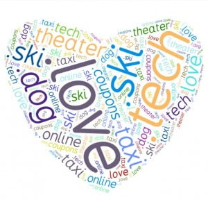 .love .ski .online .dog .tech .taxi .theater